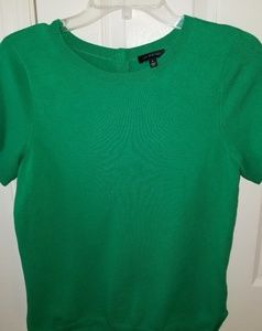 The Limited Kelly Green Short Sleeve L.W. Sweater